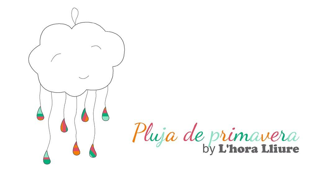 Manualitats infantils: Pluja de primavera