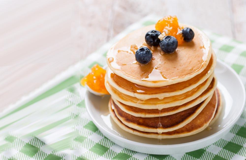 Pancakes saludables, un esmorzar diferent