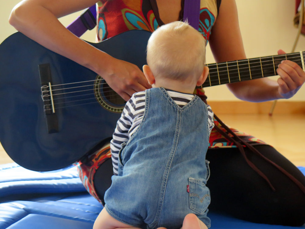 Sensibilització musical nadons