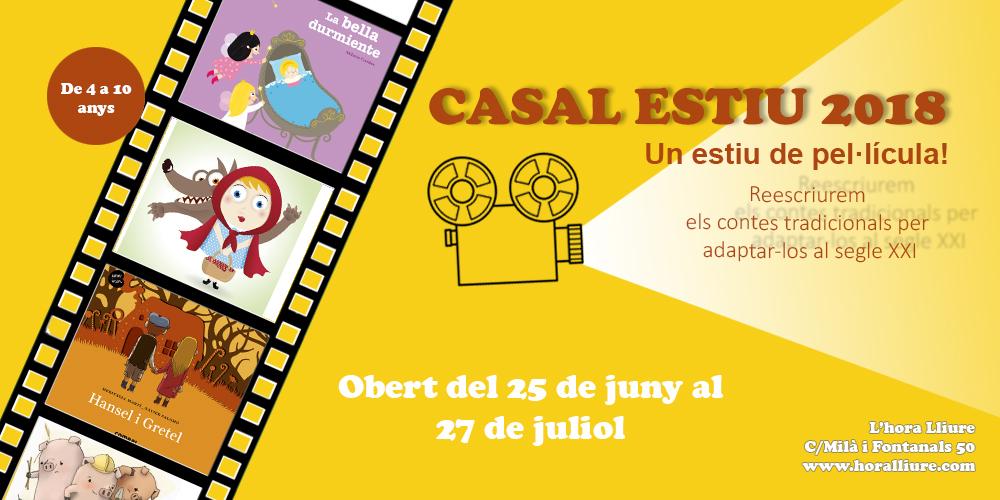 Casal Estiu 2018 – Un estiu de pel·lícula!