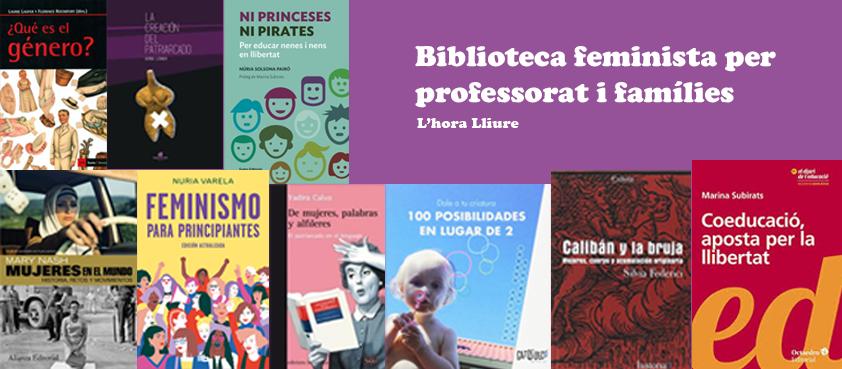 Biblioteca feminista per famílies i professorat